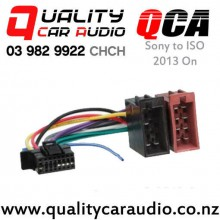 Sony to ISO Radio Wiring Adapter (2013 On) with Easy Finance