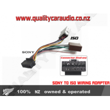 SONY TO ISO WIRING ADAPTER (Pre 2013)