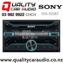 Sony WX-920BT Bluetooth CD USB AUX 3x Pre Outs NZ Tuners Car Stereo with Easy Finance
