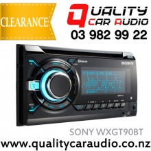 Sony WX-GT90BT Bluetooth CD USB AUX IPOD NZ Tuners 3x Pre Outs with Easy Layby