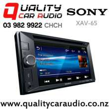 """Sony XAV-65 6.2"""" DVD USB AUX NZ Tuners 2x Pre Outs Head Unit with Easy Layby"""