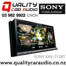 "SONY XAV-712BT 7"" Bluetooth DVD HDMI MHL USB AUX iPod NZ Tuners 3x Pre Outs with Easy LayBy"