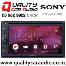 Sony XAV-AX200 Bluetooth DVD USB Apple CarPlay & Android Auto Car Stereo with Easy Finance