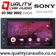 Sony XAV-AX200 Bluetooth DVD USB Apple CarPlay & Android Auto Car Stereo with Easy Finance