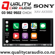 Sony XAV-AX3000 Apple CarPlay & Android Auto Bluetooth USB AUX NZ Tuners 3x Pre Out Car Stereo with Easy Finance