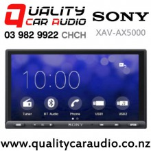 "Sony XAV-AX5000 6.95"" Screen Apple CarPlay Android Auto Bluetooth USB NZ Tuners 3x Pre Outs Car Stereo with Easy Finance"