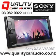 "Sony XAV-V630BT 6.2"" Bluetooth USB AUX ipod / Android MP3 NZ Tuners 3x Pre Outs with Easy Layby"