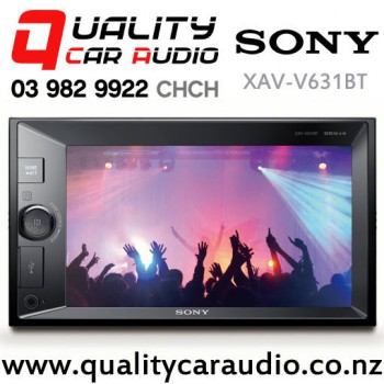 Sony XAV-V631BT Bluetooth Smartphone Support USB Dual AV Input NZ Tuners 3x Pre Out Car Stereo with Easy Finance
