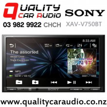 "Sony XAV-V750BT 7"" Bluetooth USB AUX 3x Pre-Outs NZ Tuners Car Stereo with Easy Finance"