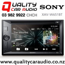 "Sony XAV-W651BT 6.1"" Bluetooth DVD USB AUX NZ Tuners 3x Pre Outs Head Unit with Easy Finance"