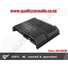 Sony XM-GS100 1 Channel 1100W Powerfull Amplifier with Easy LayBy
