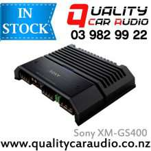 Sony XM-GS400 700W 4/3/2 Channels Class AB Mosfet Power Car Amplifier with Easy Layby