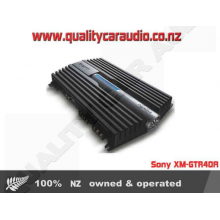 Sony XM-GTR40A 4/3/2 CHANNELS 1200W BRIDGEABLE AMPLIFIER with Easy LayBy