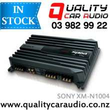 Sony XM-N1004 4/3/2 Channels 1000W Bridgeable mosfet Power Car Amplifier with Easy LayBy