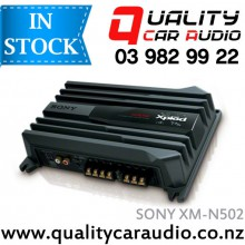SONY XM-N502 500W 2/1 Channels Bridgeabe Power Amplifier with Easy LayBy