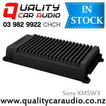 Sony XM-SW3 390W 3/2 Channels Bridgeable Class AB Mosfet Power Car Amplifier with Easy Layby