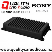 Sony XM-SW3 390W 3/2 Channels Bridgeable Class AB Mosfet Power Car Amplifier with Easy Finance