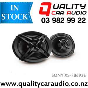 """Sony XS-FB693E 6x9"""" 420W 3 Ways Coaxial Car Speakers (Pair)"""