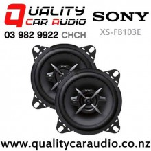 "Sony XS-FB103E 4"" (10cm) 210W 3 Ways Coaxial Car Speakers (Pair) with Easy Layby"
