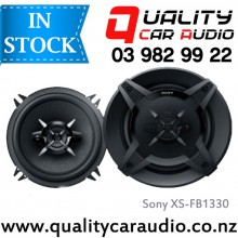 "Sony XS-FB1330 5.25"" (13cm) 240W 3 Ways Coaxial Car Speakers (Pair) with Easy Layby"