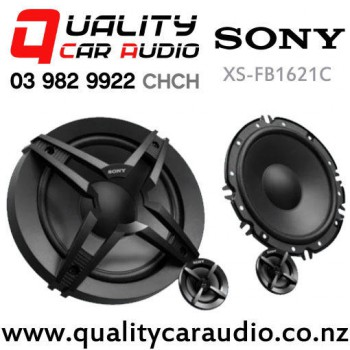 """Sony XS-FB1621C 6.5"""" 270W (45W RMS) 2 Way Component Car Speakers (pair) with Easy Payments"""