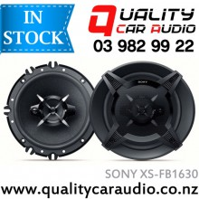 """Sony XS-FB1630 6.5"""" 270W  3 Ways Car Coaxial Speakers with Easy Layby"""