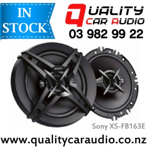 """Sony XS-FB163E 6.5"""" (16.5cm) 260W 3 Ways Coaxial Car Speakers (Pair) with Easy Layby"""