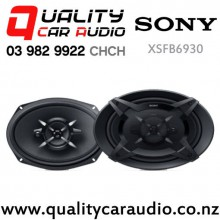 "Sony XSFB6930 6x9"" 450W (60W RMS) 3 Ways Coaxial Car Speakers (pair) with Easy Finance"