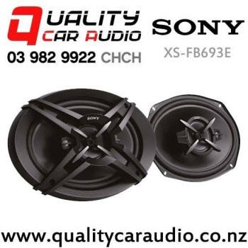 """Sony XS-FB693E 6x9"""" 420W 3 Ways Coaxial Car Speakers (Pair) with Easy Finance"""