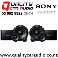 "Sony XS-GS1631C 6.5"" 320W (120W RMS) 3 Way Component Car Speakers (pair) with Easy Payments"