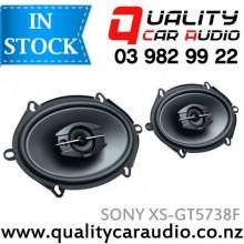 """Sony XS-GT5738F 230W 3 Ways 5x7"""" / 6x8"""" 3 Ways Coaxial Car Speakers (Pair) with Easy Layby"""