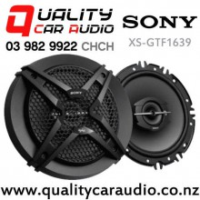 "Sony XS-GTF1639 6.5"" 270W (45W RMS) 3 Way Coaxial Car Speakers (pair) with Easy Payments"