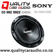 """Sony XS-NW1200 12"""" 1800W (300W RMS) Single 4 ohm Voice Coil Car Subwoofer with Easy Finance"""