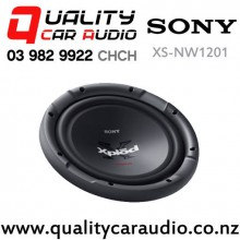 "Sony XS-NW1201 12"" 1800W (420W RMS) Single 4 ohm Voice Coil Car Subwoofer with Easy Finance"
