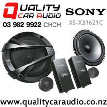 "Sony XS-XB1621C 6.5"" 350W (60W RMS) 2 Way Car Component Speakers (pair) with Easy Finance"