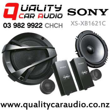 """Sony XS-XB1621C 6.5"""" 350W (60W RMS) 2 Way Car Component Speakers (pair) with Easy Finance"""