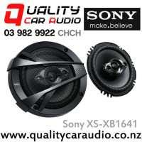 """Sony XS-XB1641 6.5"""" 350W (60W RMS) 4 Way Car Speakers with Easy Finance"""