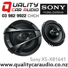 """Sony XS-XB1641 6.5"""" 350W (60W RMS) 4 Way Car Speakers with Easy LayBy"""