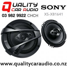 "Sony XS-XB1641 6.5"" 350W (60W RMS) 4 Way Car Speakers (pair) with Easy Finance"