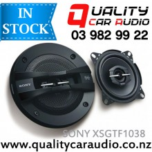 "Sony XS-GTF1038 4"" (10cm) 210W 3 Ways Car Coaxial Speakers (Pair) with Easy Layby"