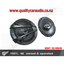 """SONY XS-N1640 6.5"""" 4 WAYS 300W COAXIAL SPEAKERS with Easy LayBy"""