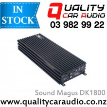 Sound Magus DK1800 1800W 1 Channel Class D Mono Block Car Amplifier with Easy Layby