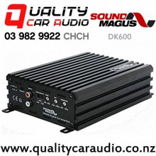 Sound Magus DK600 600W RMS Class-D MONO BASS Amplifier with Easy Finance