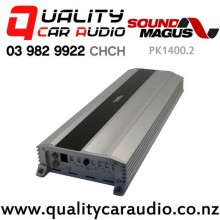 SoundMagus PK1400.2 700W RMS 2 Channel Full Range Class D Car Amplifier with Easy Finance