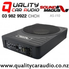 """SoundMagus AS-I10 10"""" 550W (180W RMS) Active Car Subwoofer with Easy Payments"""