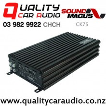 Sound Magus CK75 480W 4/3/2 Channels Class AB Car Amplifier with Easy Finance
