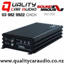 SoundMagus DK1200 1200W Mono Channel Class D Car Amplifier with Easy Payments