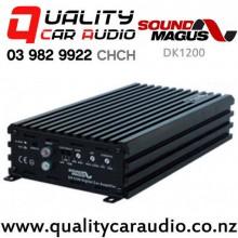 SoundMagus DK1200 1200W Mono Channel Class D Car Amplifier with Easy Finance