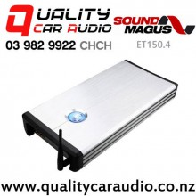 SoundMagus ET150.4 Bluetooth 320W 4/3/2 Channel Class AB Car Amplifier with Easy Finance