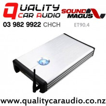 SoundMagus ET90.4 Bluetooth 4/3/2 Channel Class-AB Car Amplifier with Easy Finance